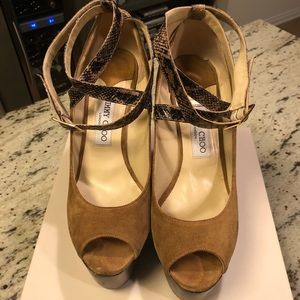 Authentic Jimmy Choo. Very good condition.